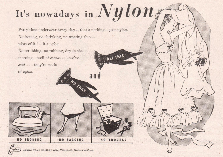 Synthetics Nylon Can Be 21