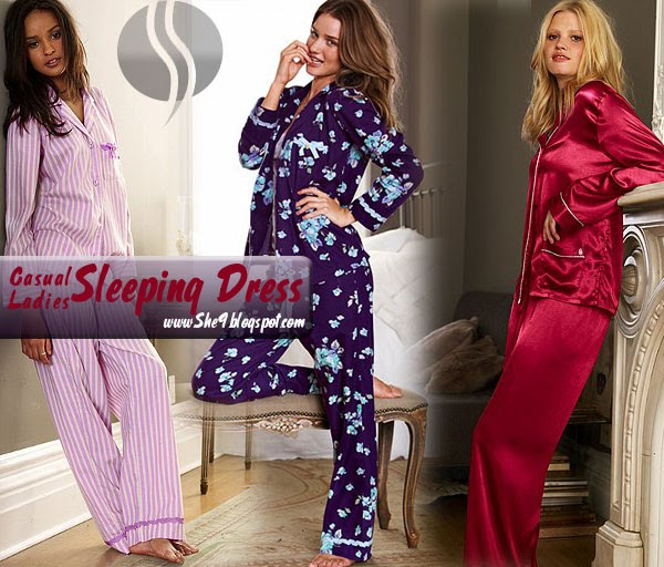 Casual Ladies Sleeping Dress She9 Change The Life Style