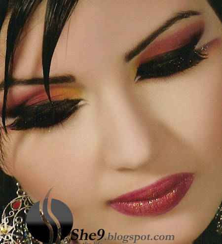 Kamontgobbga Arabic Bride Makeup