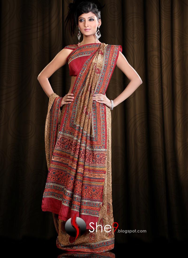 In Saree Tamanna In Himmatwala: Delhi Saree Designs - She9