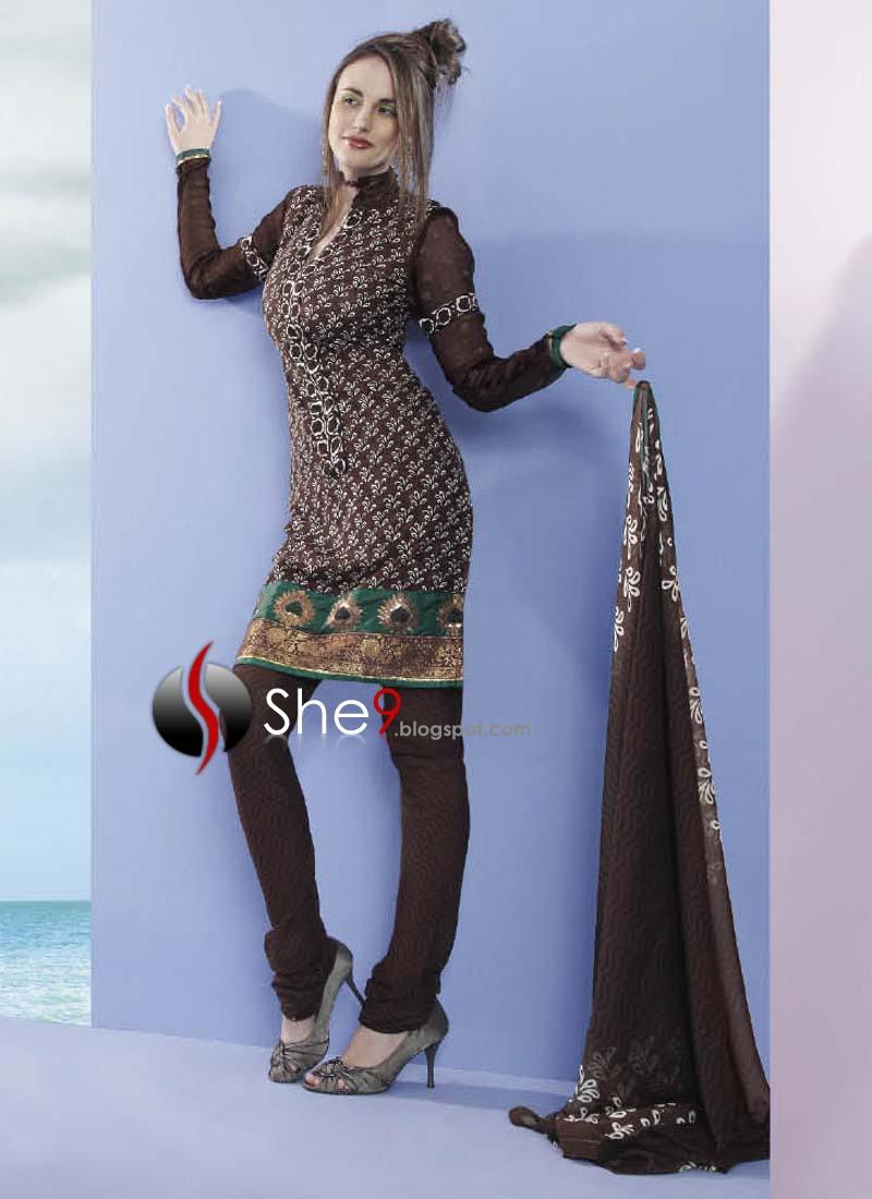 ladies salwar kameez for winter latest diwali designs