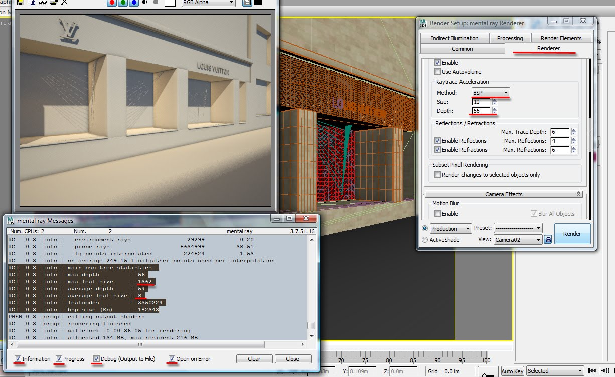 Viz Tech Support for Companies & Artists: 3ds max: Decoding