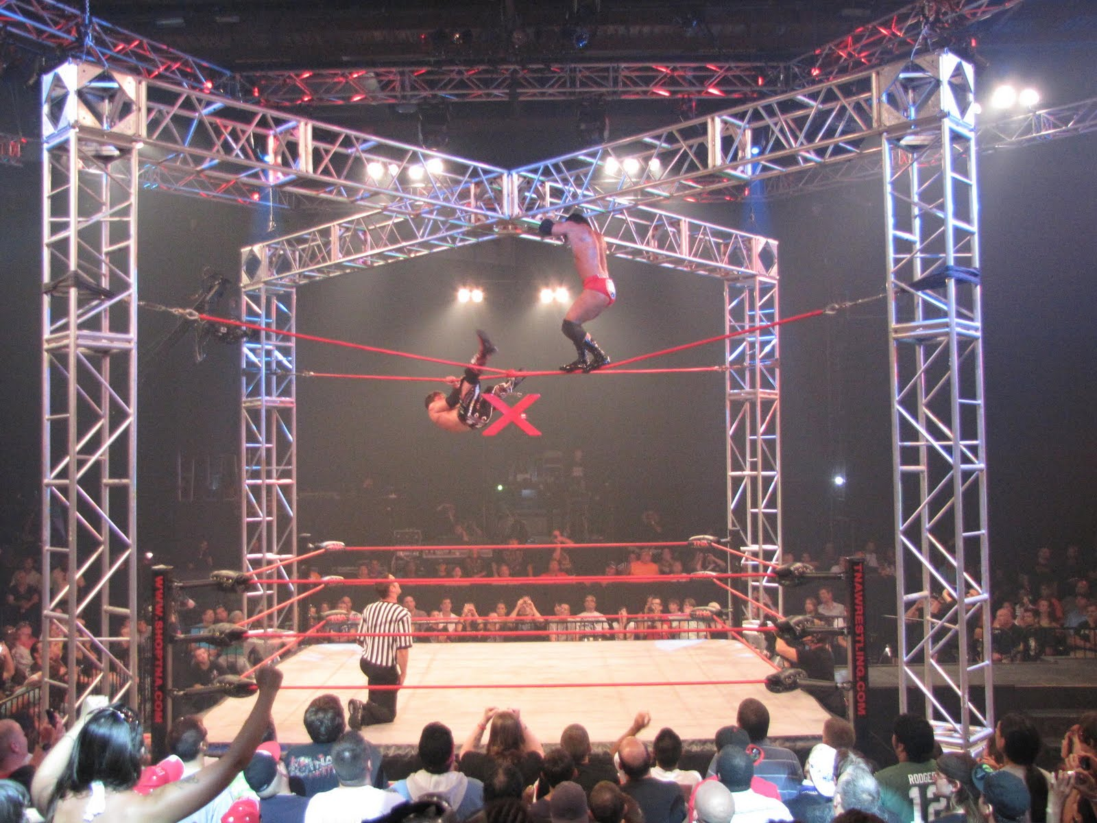 one year trip: TNA - Total Nonstop Action Wrestling - Day Two