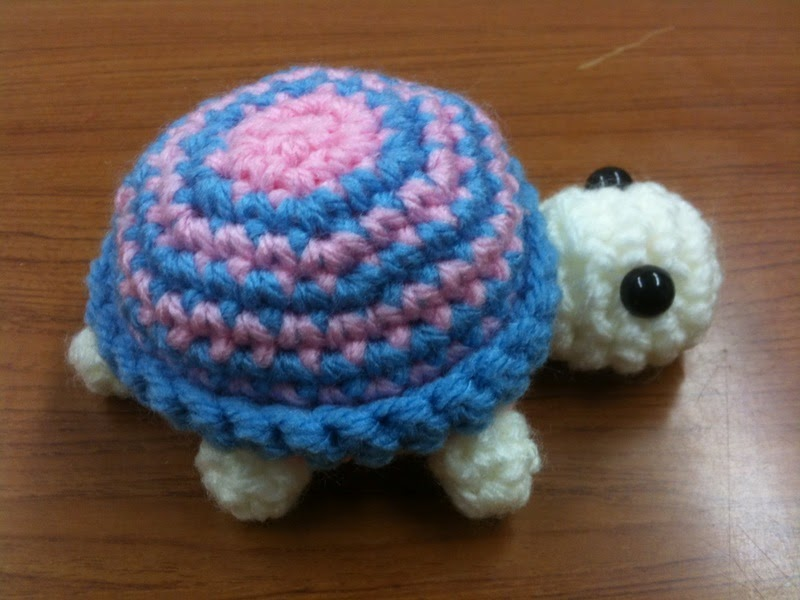 Casual Crafting Journal: Crochet Turtle