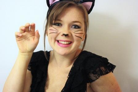 Ideas Para Disfrazarte De Gato La Noche De Halloween - Disfraz-de-gata-para-halloween