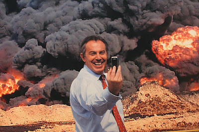 Tony Blair As Mother Courage