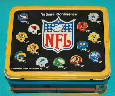 The Fleer Sticker Project: Back to School with NFL Lunch Boxes