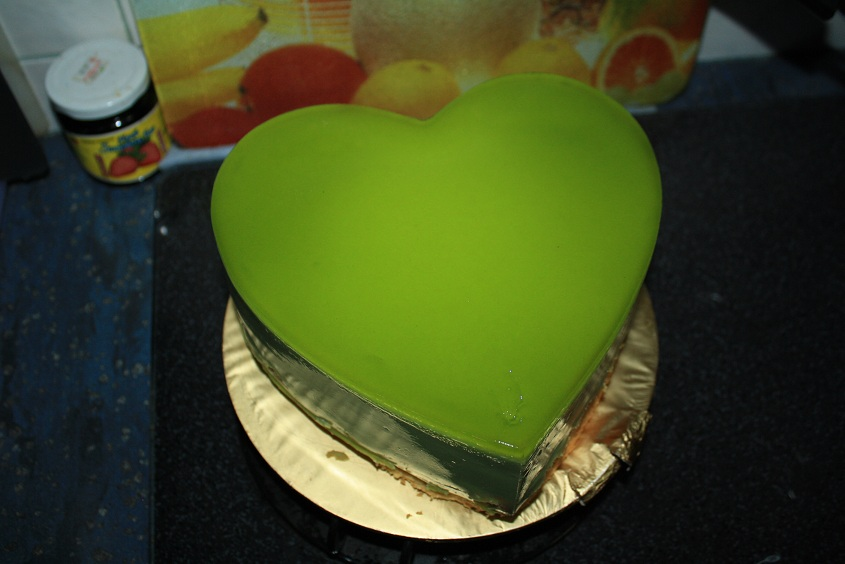 Pandan Cake Jelly Recipe: Baking Diary: Pandan Kaya Layer Cake