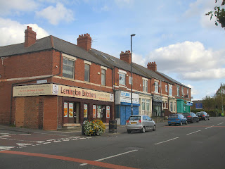 The shops on Tyne View