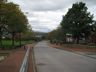 Looking down Broadmead Way