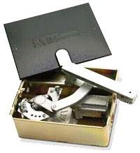 Mecanismo en caja cincada fabricado en Italia por BFT