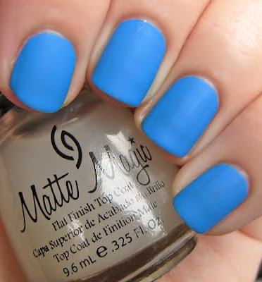 China Glaze Matte Magic Top Coat Swatches Amp Review All