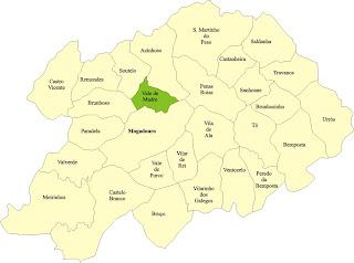 mapa de mogadouro Vale da Madre: Mapa do concelho de Mogadouro mapa de mogadouro