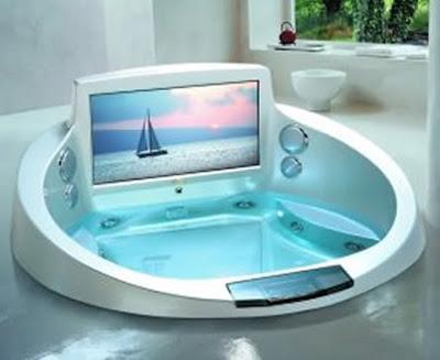 View in gallery A clear rectangular bathtub