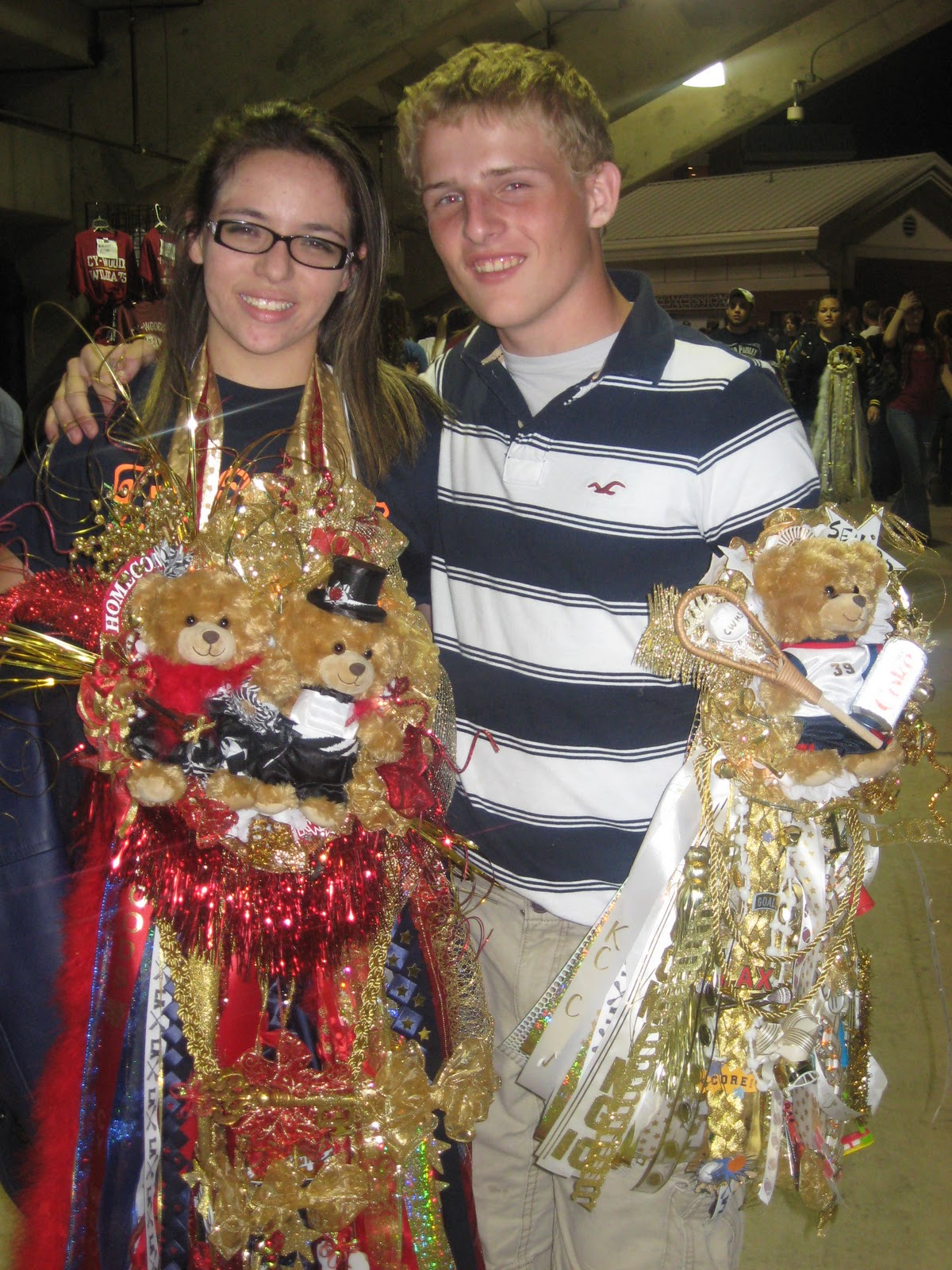 Cypress Chique Homecoming Mums And Garters