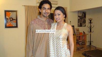 Ali Safina with Girlfriend Rubya ChaudhryZeba Bakhtiar Second Marriage