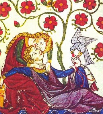 Resultado de imagen de lirica medieval