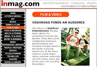 Highroad Entertainment Www Highroadent Com