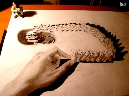 Something Amazing Amazing And Incredible 3d Pencil Drawings