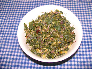images of Murungaikeerai Poriyal / Drumstick leaves Stir Fry / Moringa Leaves Stir Fry