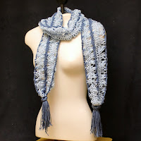 This Hairpin Lace Scarf is now on sale!