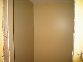 Exercise Room And Washroom Painted