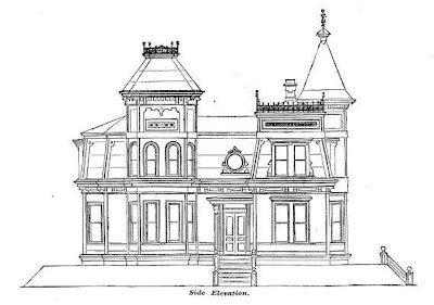 Victorian Houseplans Design For A Suburban Residence 1870