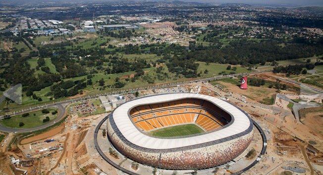 World Cup 2010 South Africa: Soccer City Stadium, Johannesburg