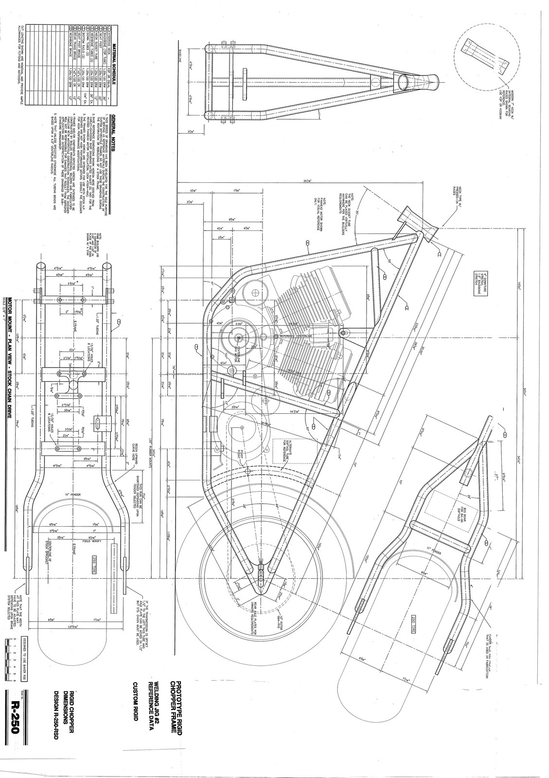 Image Result For Blueprint For Girder Front End And Harley