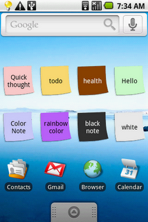 Color Note App For Iphone