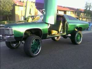 Donk 1974 Impala 1974 Chevy Impala Donk Lifted W 24