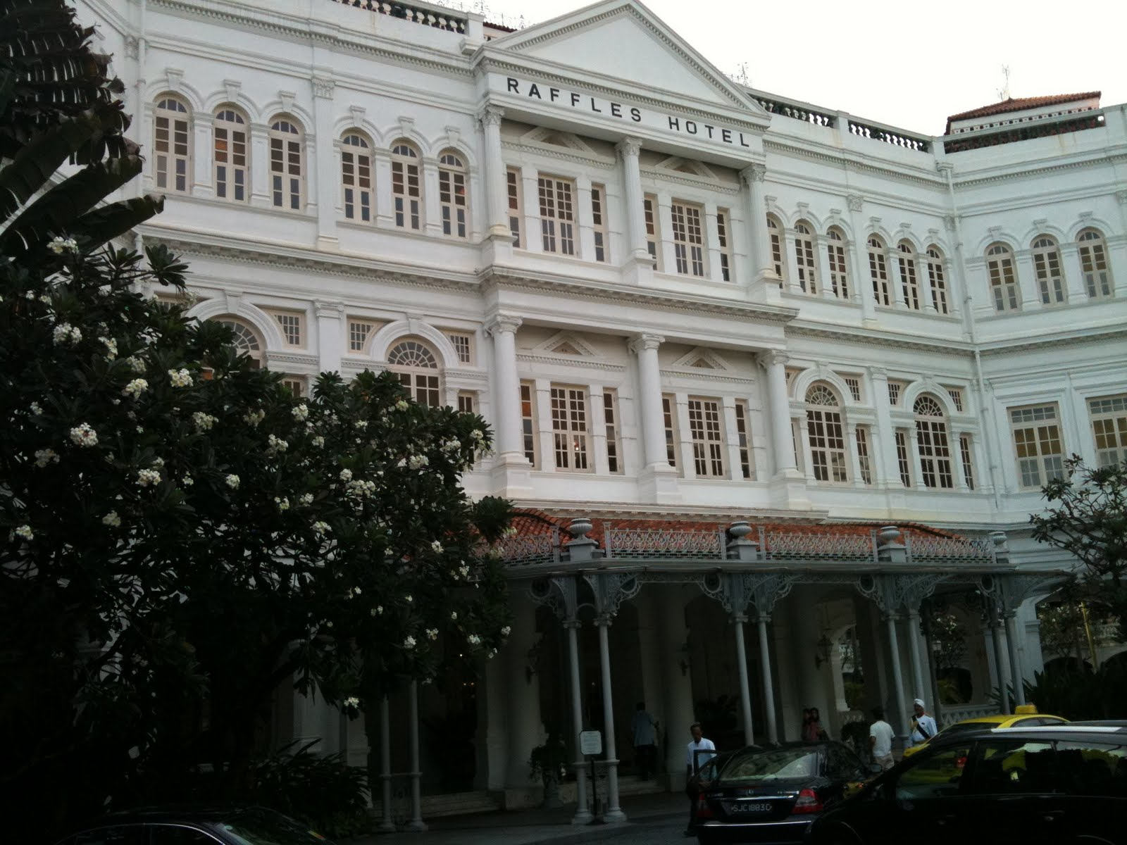 Casting About Singapore Raffles Hotel The Long Bar