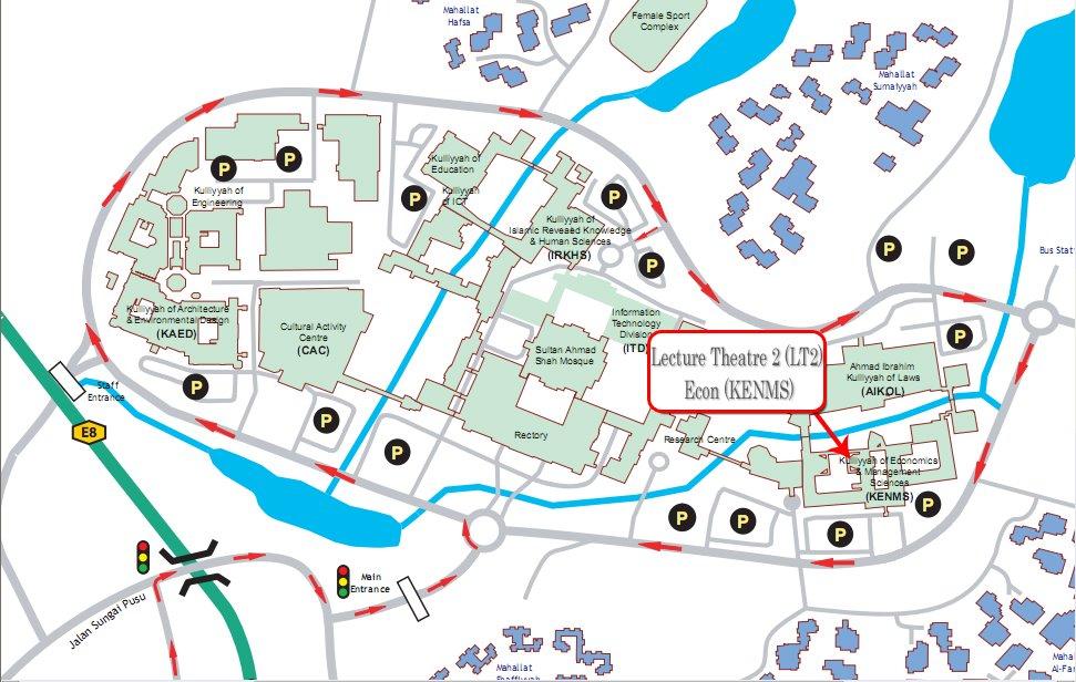 Peta ke Kuliah Sirah