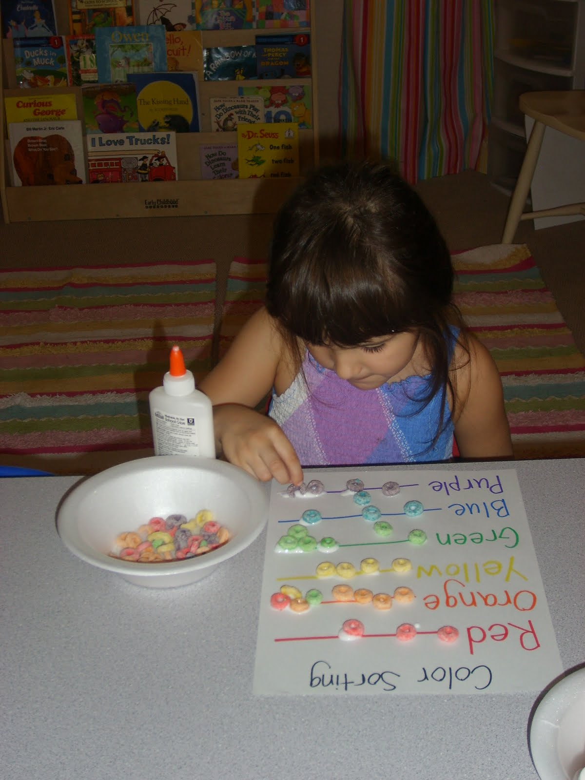 Chipman S Corner Preschool Rainbow Fruit Loops