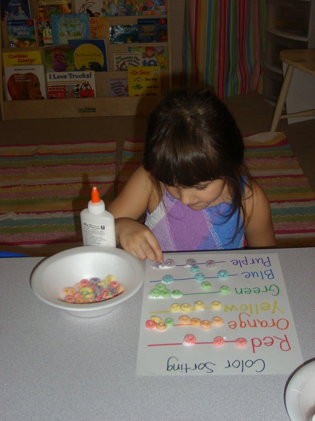 Chipman S Corner Preschool Rainbow Fruit Loops