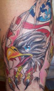 Fryzury Bob Tatuaże Patriotyczne
