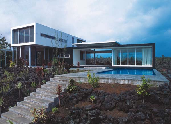 Arquitectura arquidea casa minimalista en haw i por for Casa minimalista lujo
