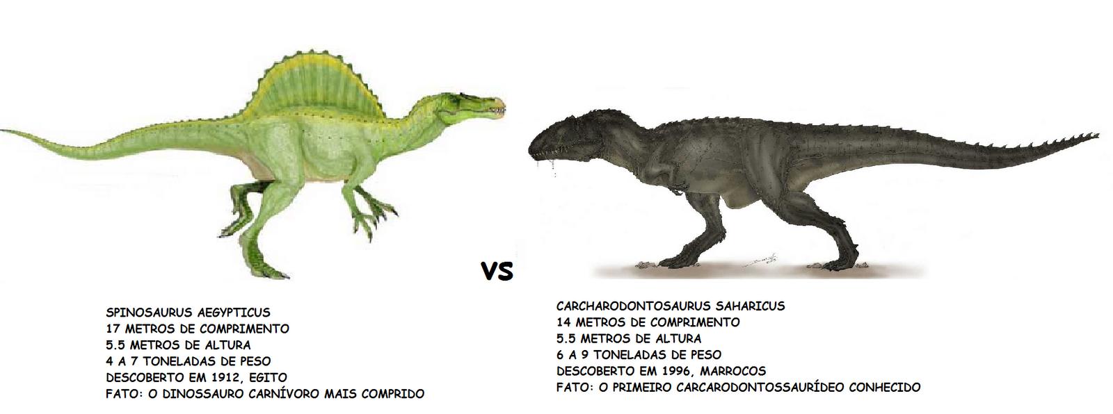 The gallery for --> Giganotosaurus Vs Carcharodontosaurus