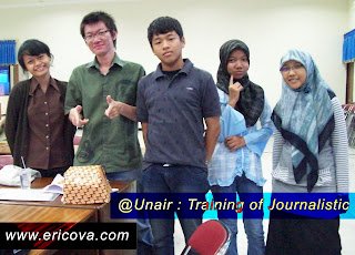 Mengikuti Training of Journalistic