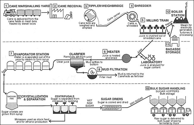 Analisa Usaha Produksi Tahu Analisa Peluang Usaha Gambar Ii1 Skema Proses Produksi Gula