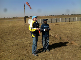 Herman & Tsepho at WHRF
