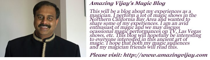 Amazing Vijay's Magic Blog