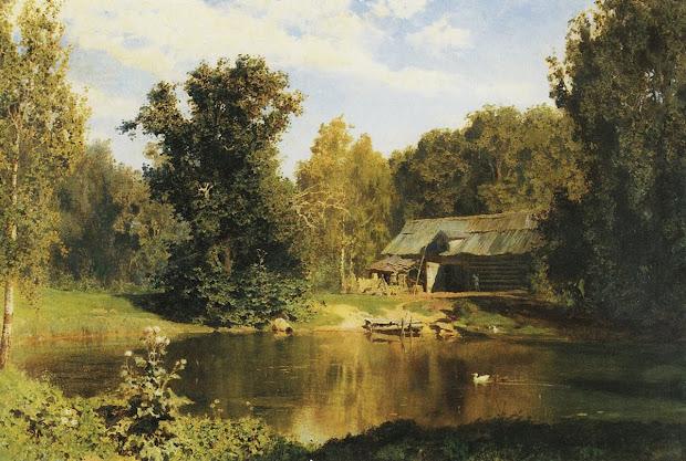 Rompedas Russian Landscape Painter