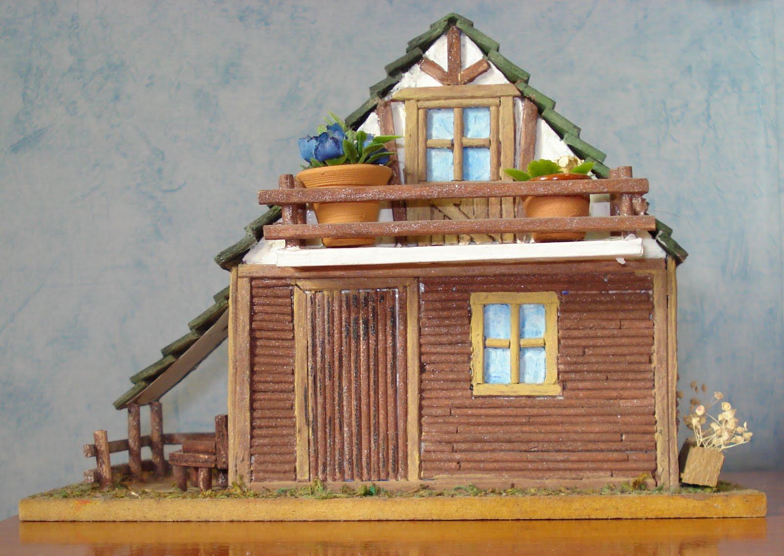 Manualidades Y Otros Entretenimientos Como Hacer Una Casa Con Papel - Casa-de-manualidades