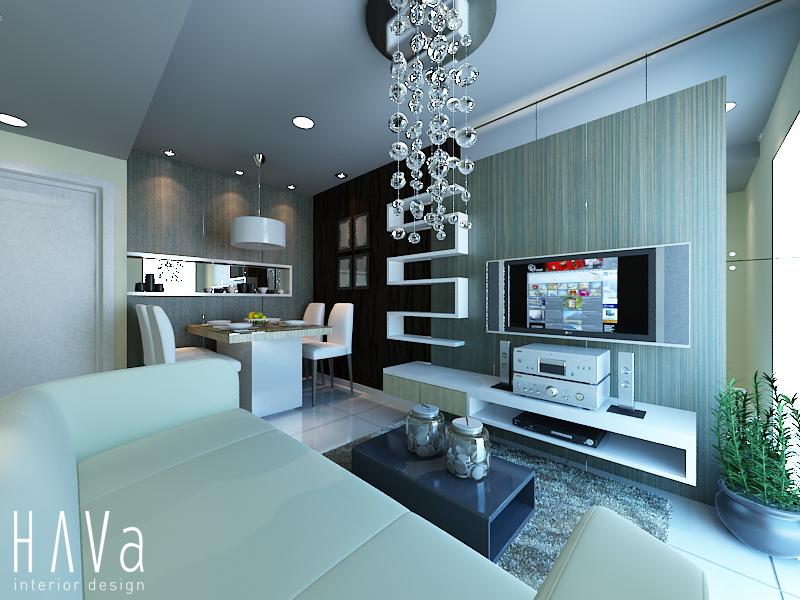 HAVa Interior Design Ruang Keluarga Modern