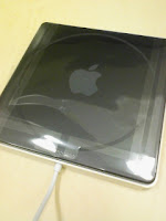 Apple MacBook Air SuperDriveの裏側。
