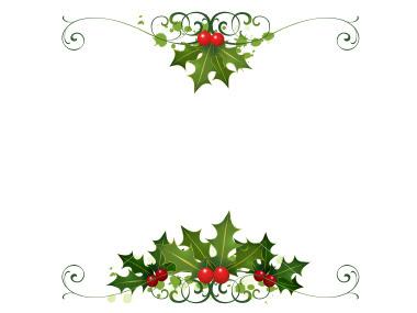 christmas design borders - photo #44