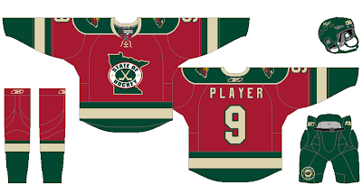 I came up with an alternate red jersey for the Wild with the State of  Hockey logo. I thought it would be cool if they wore it on Hockey Day  Minnesota or ... 90345d1f0