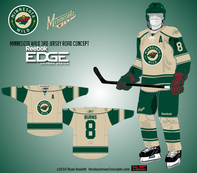 Ryan Haslett put together an awesome concept for an alternate road uniform.  This concept combines aspects from the Wild s current home jersey and their  ... 80a0d952b