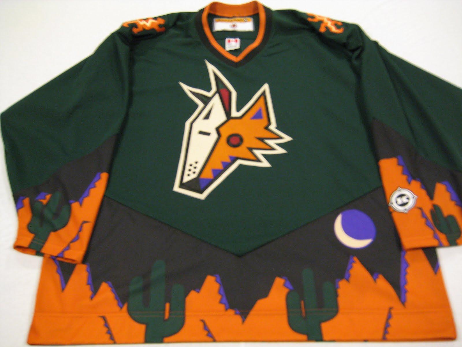 innovative design bbd1c bf871 Bmac's Jerseys: Phoenix Coyotes 98-03 Alternate Jersey